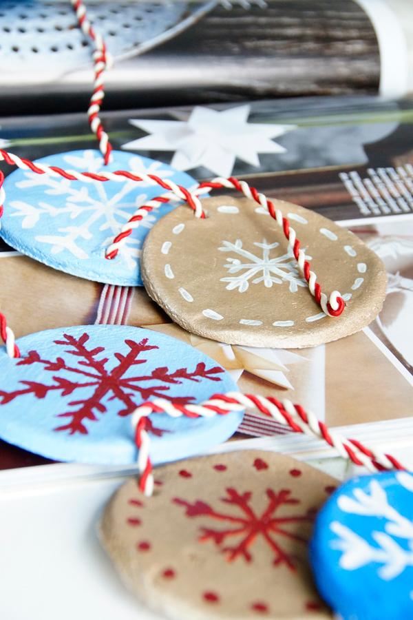 Salzteig, DIY, Girlande basteln, Weihnachten, spoon and key