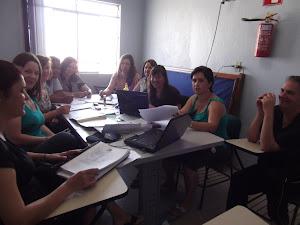 Grupo de professores do 2º ano- 07/11/2012
