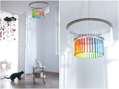 chandalier chandelier test tubes woo pretty cool rainbow stems vases science