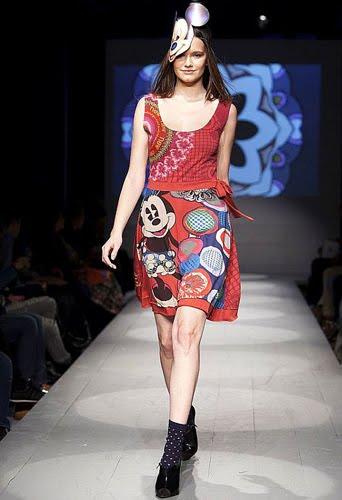 vestidos mujer Desigual verano Mickey Mouse