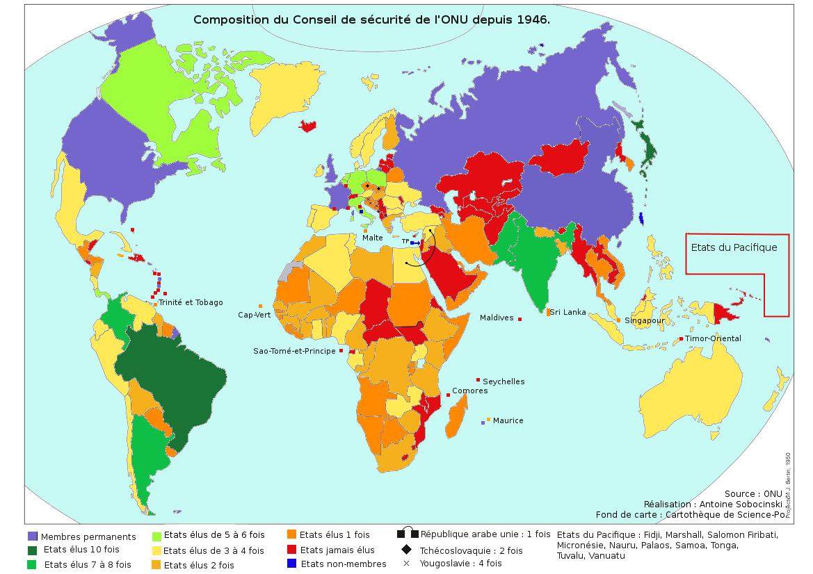Les carnets d'AFS: Petite géopolitique du conseil de