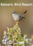 Balearic Bird Report - BBR num. 31, 2016