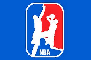 funny new NBA logo,Hibbert adn Battier