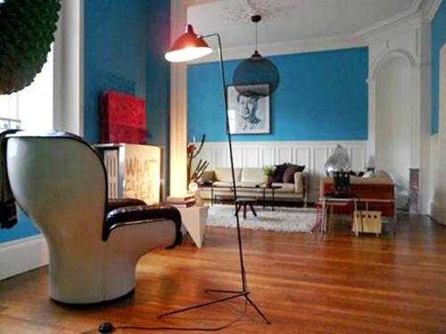 Modernes Design mit Artemide, Driade und Vitra kombiniert mit Designklassiker