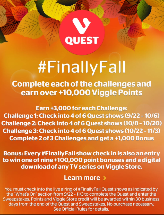 Finally Fall Quest