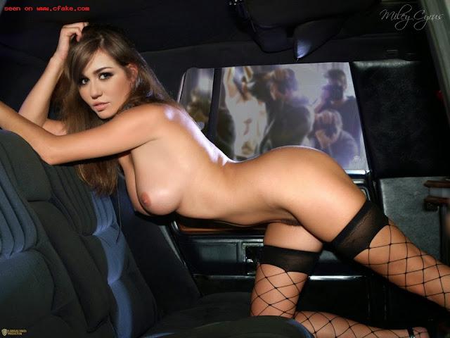 FotosNua.Com Miley Cyrus pelada nua mostrando sua buceta famosa