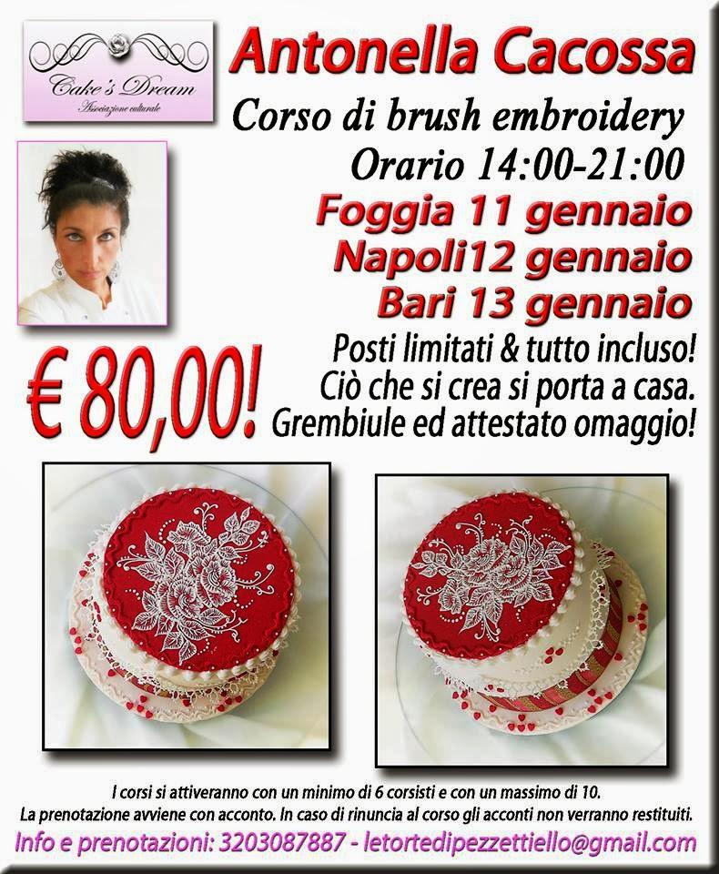 Torta Brush Embroidery