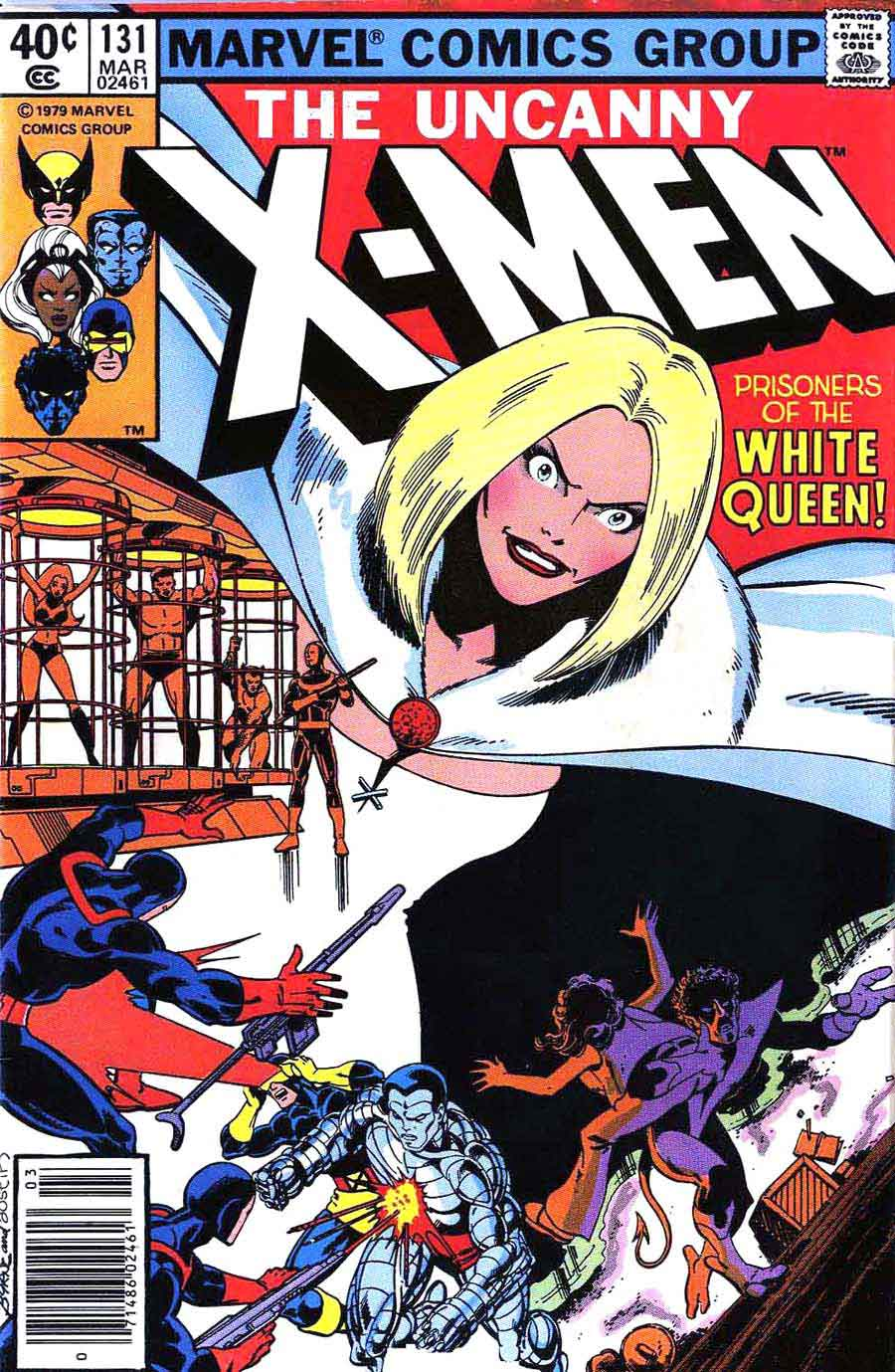 Book Cover White Queen : X men john byrne art cover pencil ink