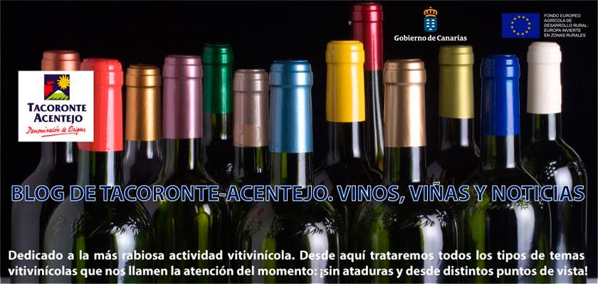 Denominación de Origen Tacoronte-Acentejo. Vinos, viñas y noticias
