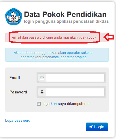 Demikian tentang Cara Memastikan Data Dapodik 2013 Terkirim ke Server ...
