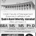 CASE Admission 2016 BBA MS PhD Online Fees Form Download