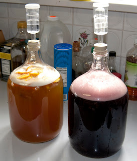 allgrains.blogspot.com - Quick Grape Mead -  By definition brewing mead is a slow process and as many experienced folks know, you should try to avoid impatience when trying to craft something special. A quick mead recipe throws out those long held beliefs, trading them for a brew that is, not quite perfect but, certainly delicious, easy and accessible to everyone.