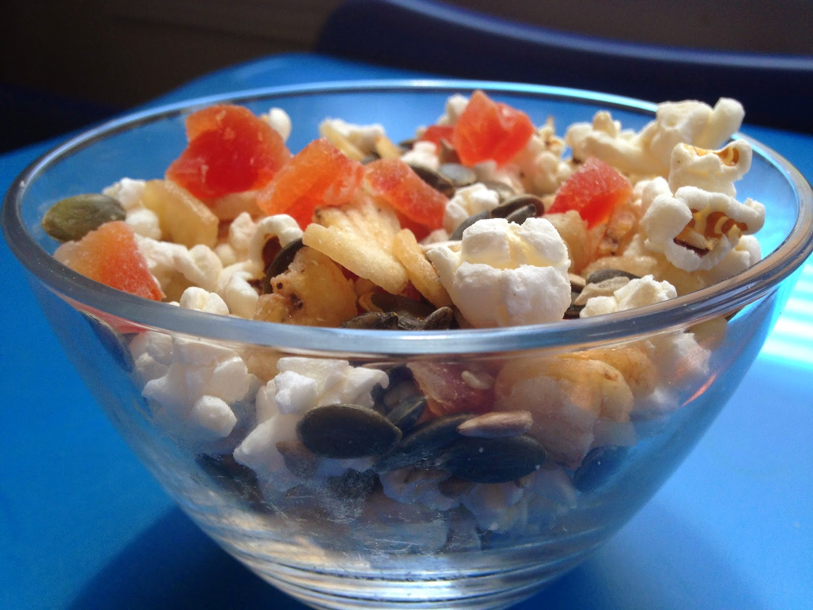 nut free snack mix