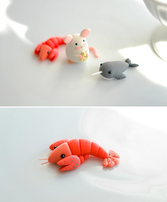 joojoo: Polymer clay guys