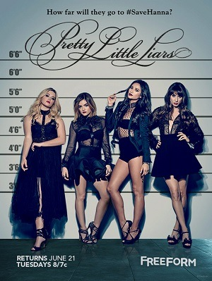 Série Pretty Little Liars (Maldosas) - 7ª Temporada 2017 Torrent