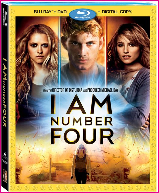 I Am Number Four (2011) BluRay 720p 750MB Hotcinemamovie