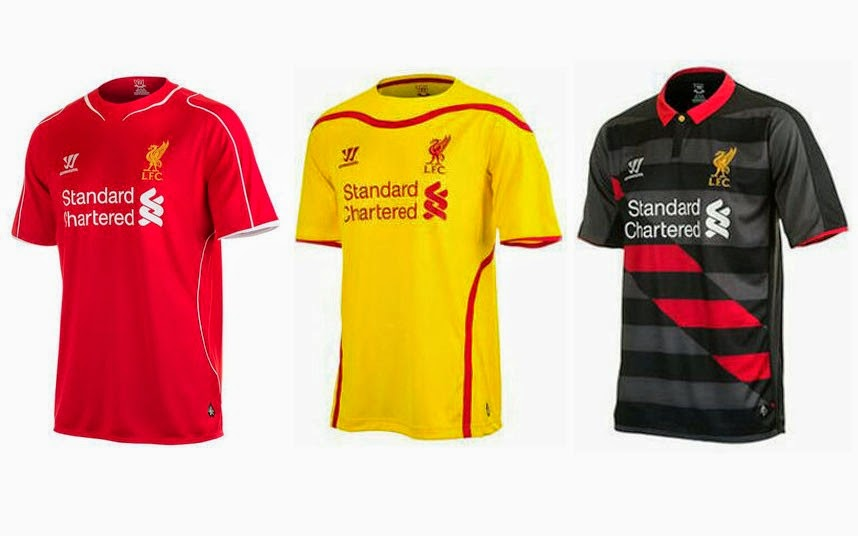 Jersey Liverpool 2015