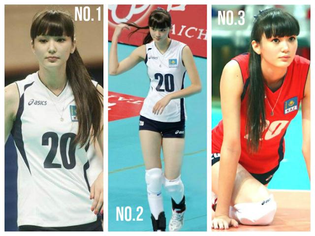Sabina Altynbekova Ratu Cantik Bola Tampar [Gambar]