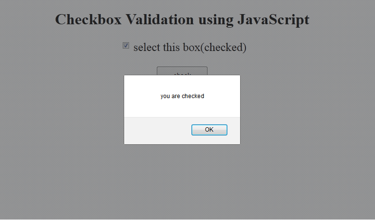 javascript checkbox example onclick,