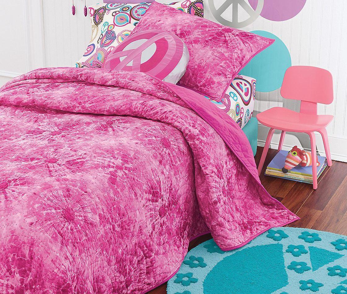 Tie Dye Quilt Bedding Pink Bedding Comforter