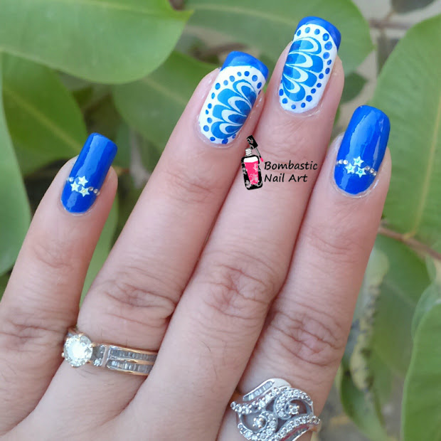 dry water marble nail art bombastic