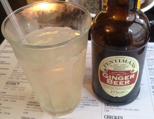 Byron Burger Ginger Ale