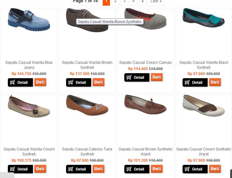 Jual Sepatu Wanita/cewek online Murah