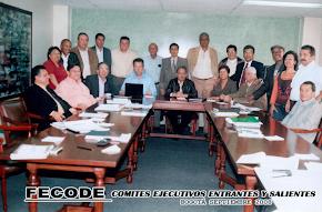 FECODE - comité saliente y comité entrante