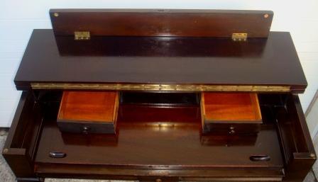 Nicole Wood Interiors Sold Vintage Fold Top Desk W