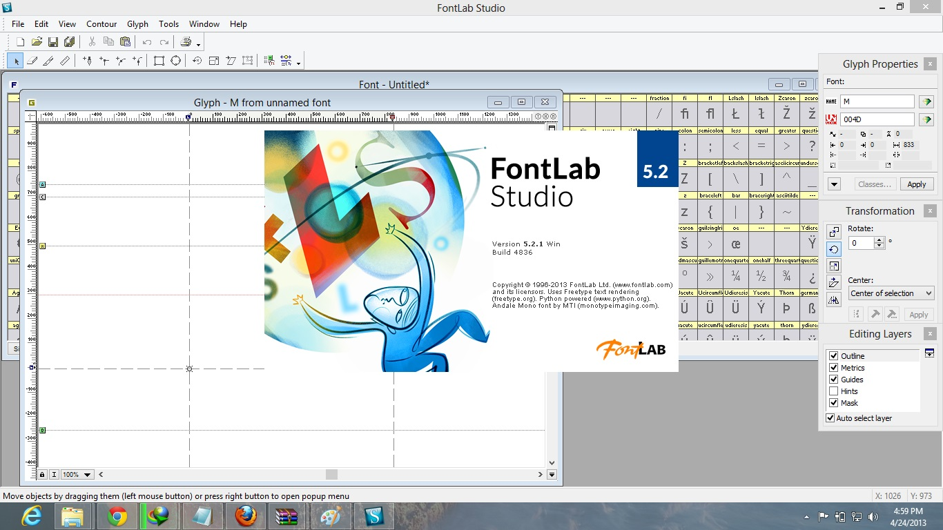 FontLab Studio 5.2 Full