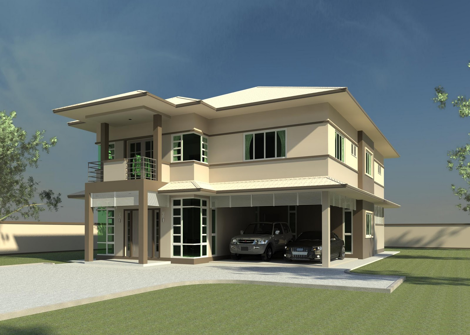 Khalid rahman design 5 bedrooms 6 bathrooms double for 6 bedroom double storey house plans