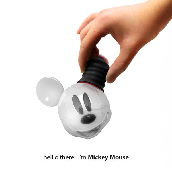 Mickey Mouse Light Bulb