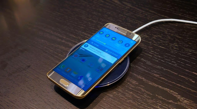 ricarica wireless samsung galaxy s6, come funziona