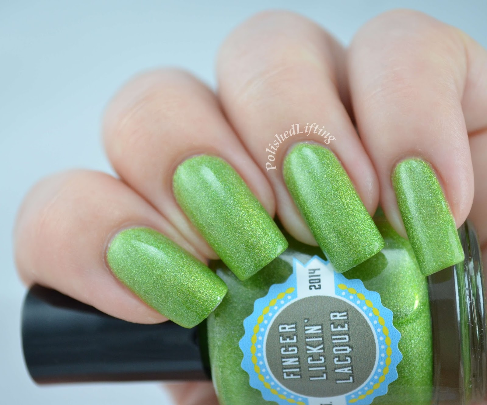 Finger Lickin Lacquer Slimed Totally Rad