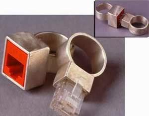Cincin Pernikahan Dari Terminal Ethernet