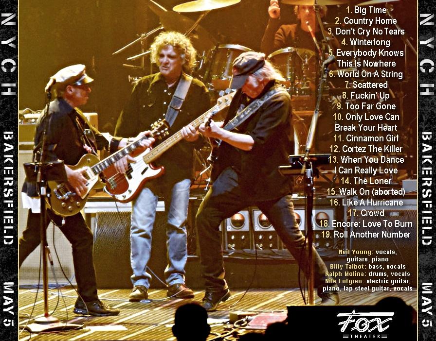 T.U.B.E.: Neil Young - 2018-05-05 - Bakersfield, CA (AUD/FLAC)