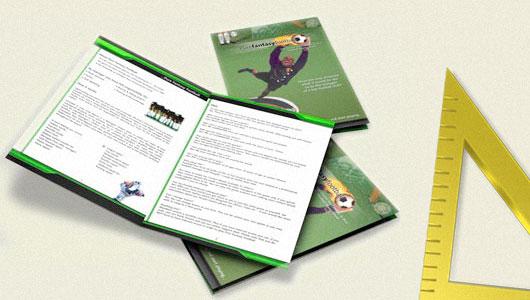 Bi-fold brochure Letter or A4 size