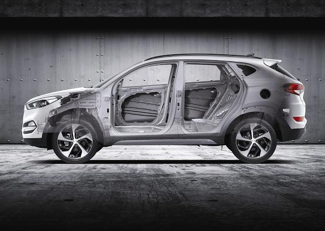 2016 Hyundai Tucson cutaway