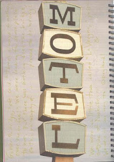 motel sign from smash book