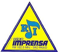 ouvir a radio imprensa fm 102,5 SP