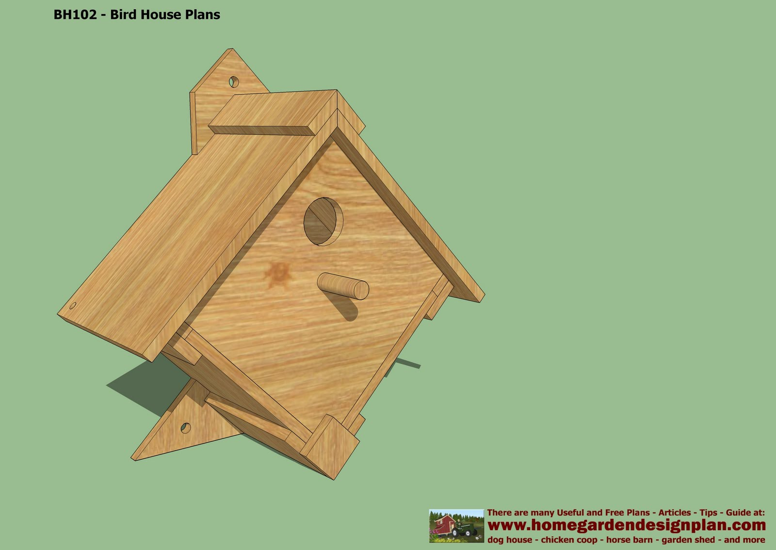 Bird House Plans Free Free Bird House Plans How To
