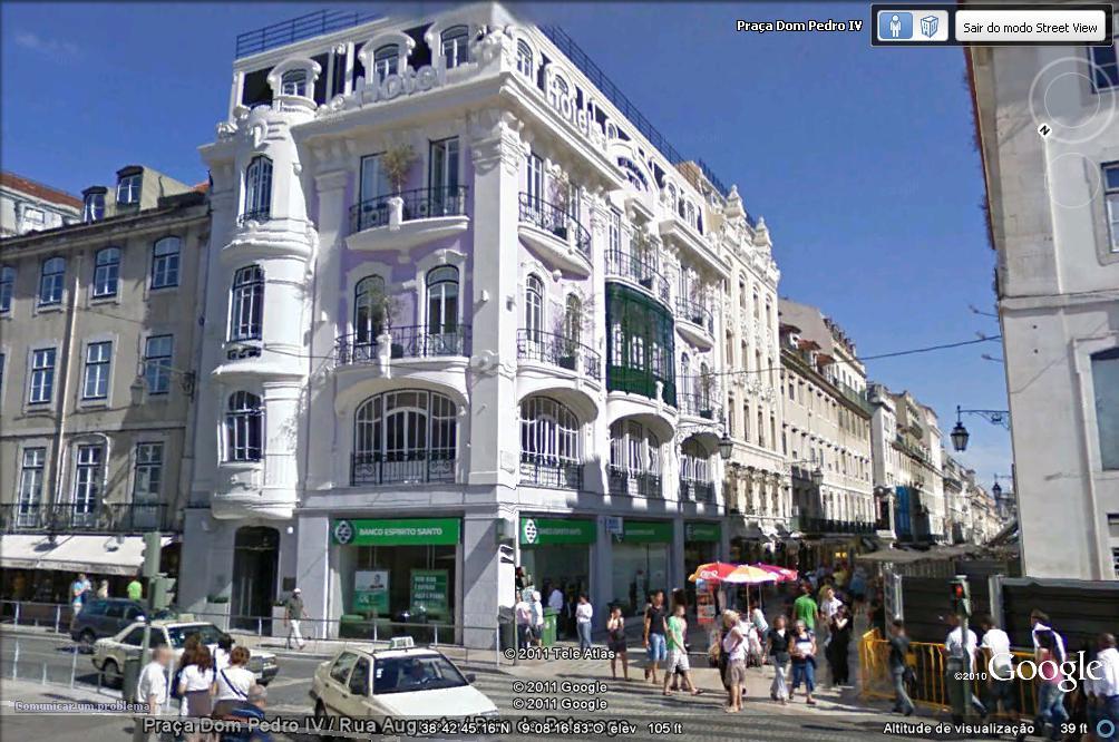 Ruas de lisboa com alguma hist ria rua augusta iv for Design hotel lisbona