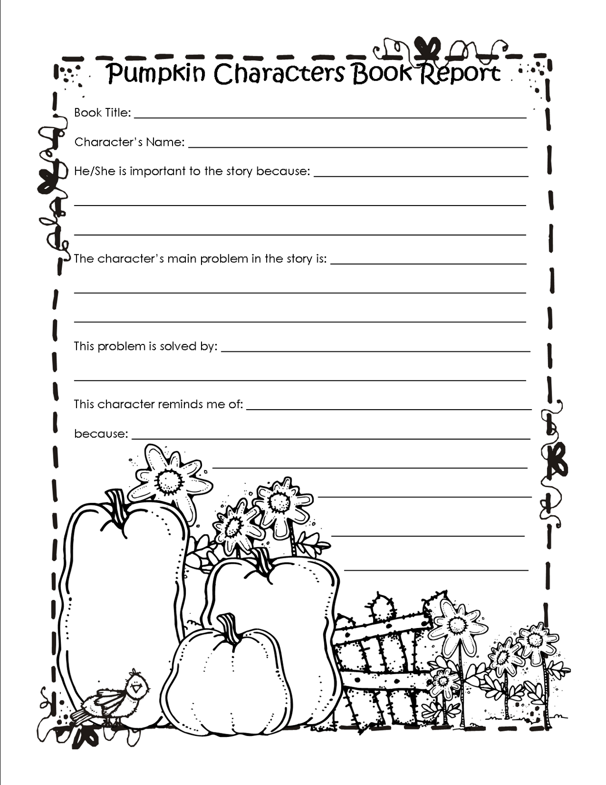 second grade book report sheets