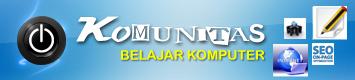 KOMUNITAS BELAJAR KOMPUTER