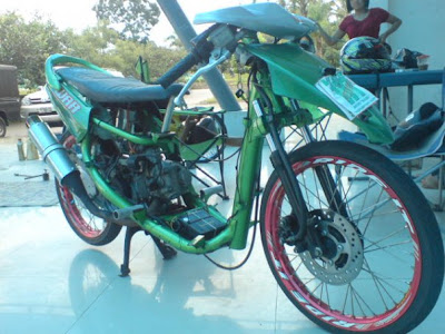 MOTOR DRAG Matic Drag racing lomba | Racing look