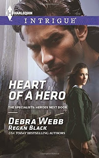debra webb, heart of a hero, book, book review, what i'm reading wednesday