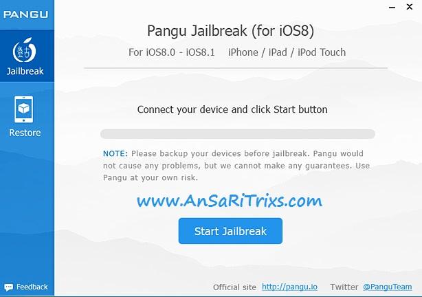 How to Jailbreak iOS 8 with Pangu