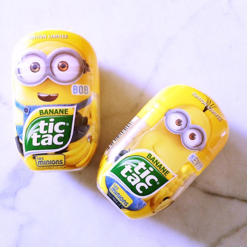 tic tac banane Minions