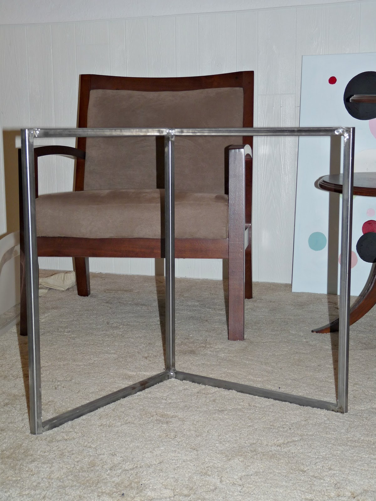 Build an Easy Welded Desk Base
