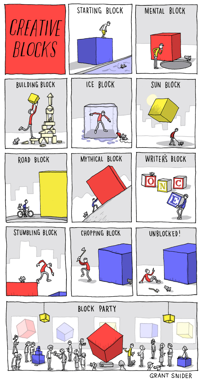 creative blocks comic